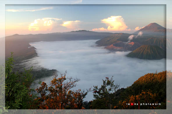 Clouds above Bromo