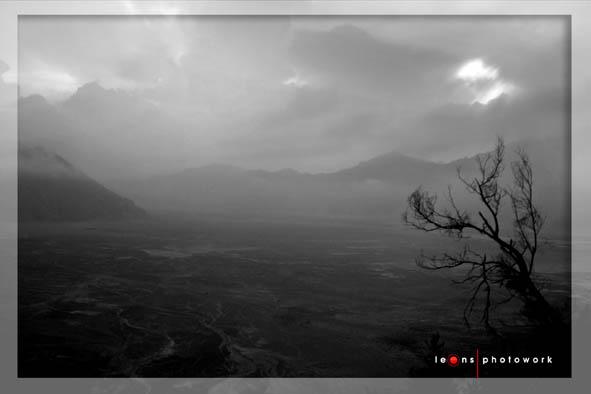 Kabut di kawasan Bromo
