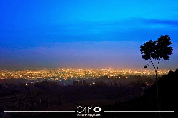 City View dari Bukit Moko