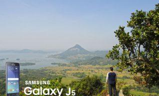 Samsung Galaxy J5 juaranya jalan-jalan jeprat-jepret