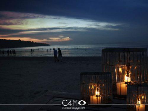 Lembayung Senja di Pantai Jimbaran Bali