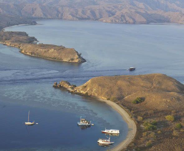 Gerbang menuju Kepulauan Komodo