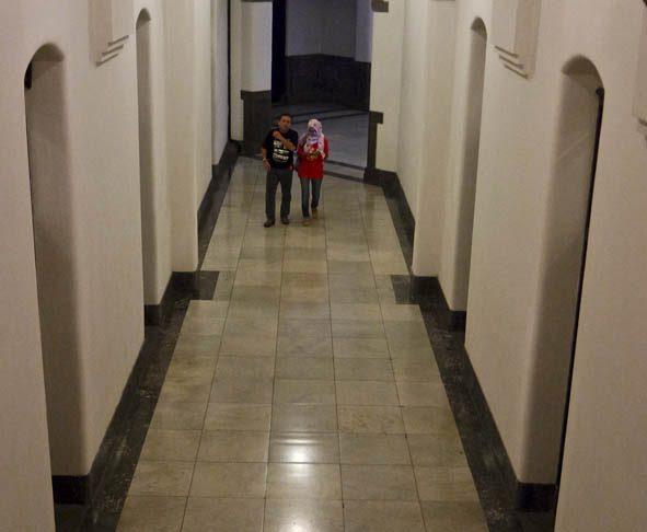 Interior Lawang Sewu yang bersih