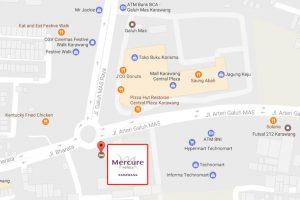 Lokasi Mercure Hotel Karawang