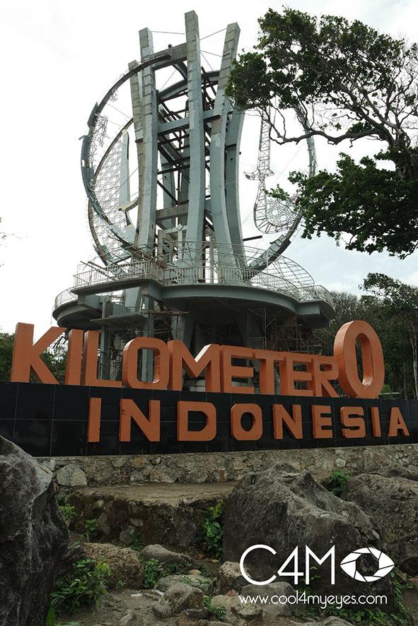 Titik 0 Kilometer ujung barat Indonesia