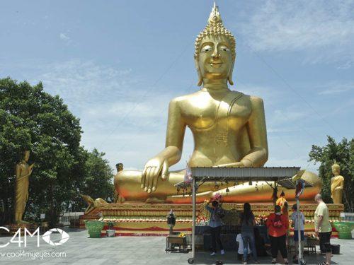 Patung Buddha di Pattaya
