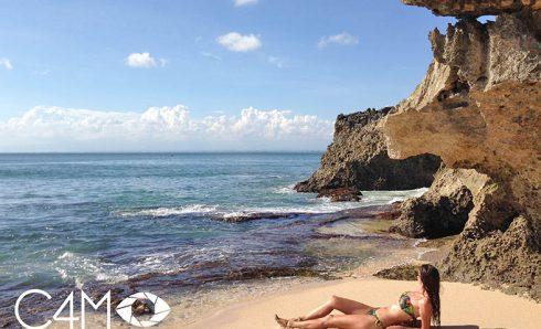 Bule di Pantai Tegal Wangi Bali