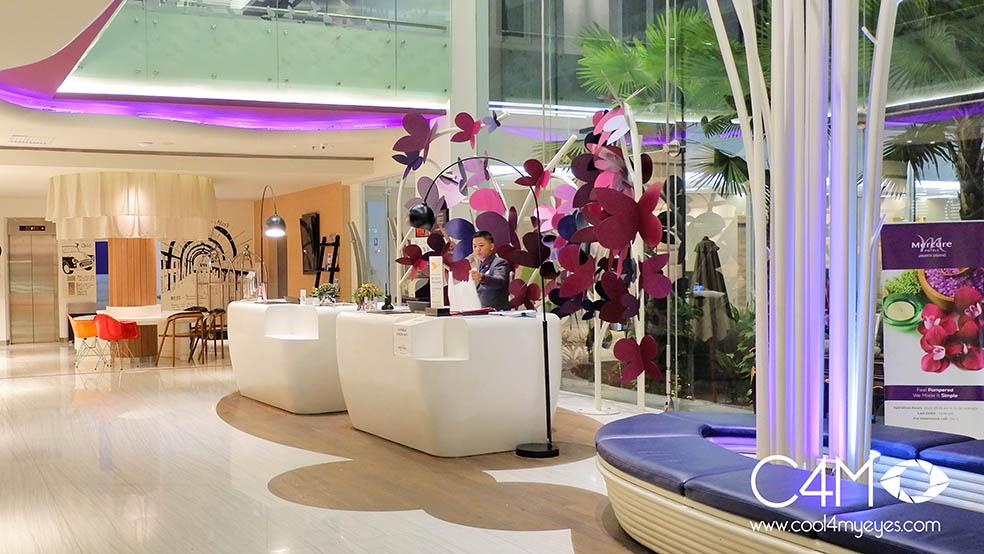 Mercure Jakarta Sabang yang minimalis