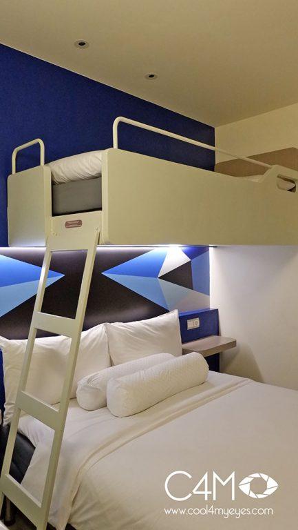 Tipe bunk bed untuk 3 orang